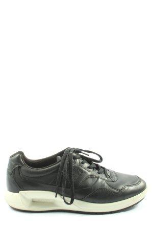 Ecco Skaterschuhe schwarz Casual-Look