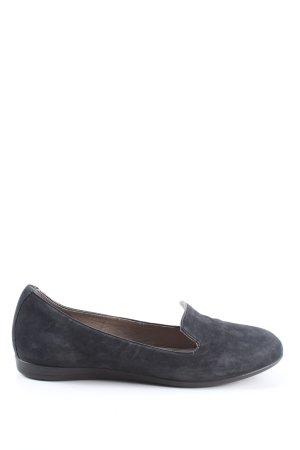Ecco Zapatos formales sin cordones negro look casual