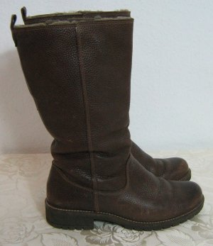 Ecco Slouch Boots brown leather