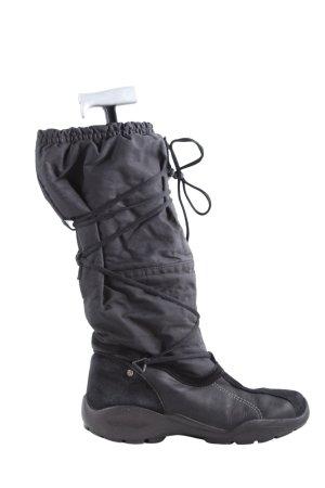 Ecco Botas de invierno negro look casual