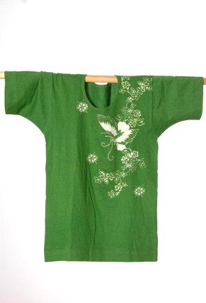 Batik shirt groen Katoen