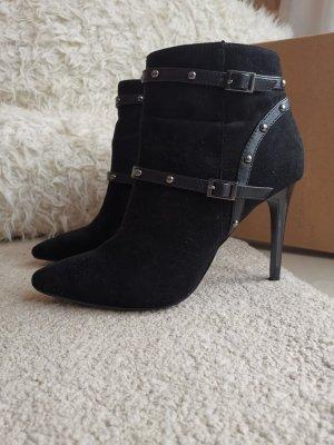 Buffalo Low boot noir-argenté