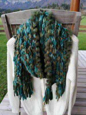 Echt-Fell Schal