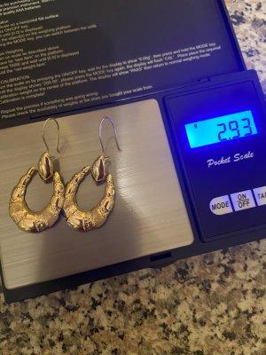 Echt Gold 585/14 k Ohrringe neu Np 270€