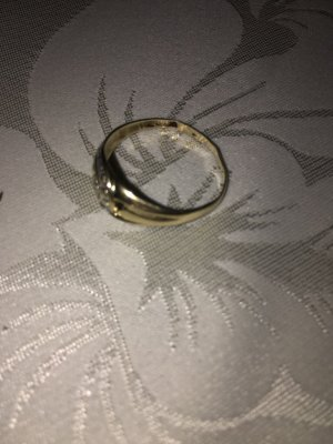 100% Fashion Gold Ring gold-colored