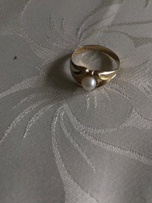 1 brand Gouden ring geel-goud