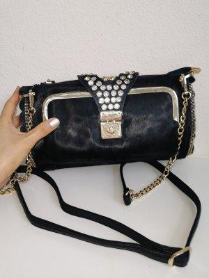 echt Leather Leder echtfell Echtpelz Tasche