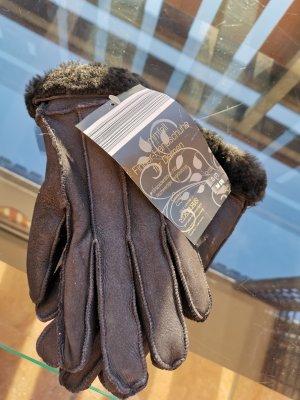 Echt Leder / 100 % Lammfell Handschuhe