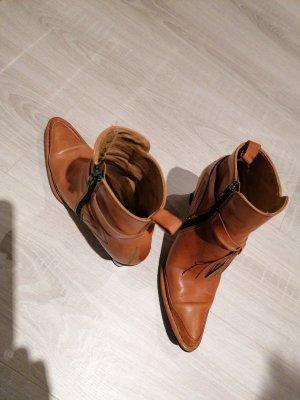echt Leder Boots Stiefel Stiefelette Spanien Bebetto