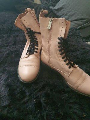 echt leder boots von zara