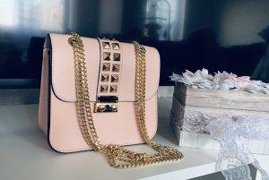 Borse in Pelle Italy Minibolso rosa claro