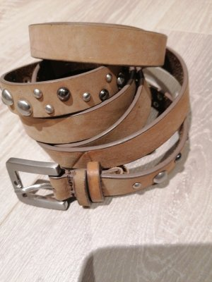 Esprit Double Belt grey brown-light brown