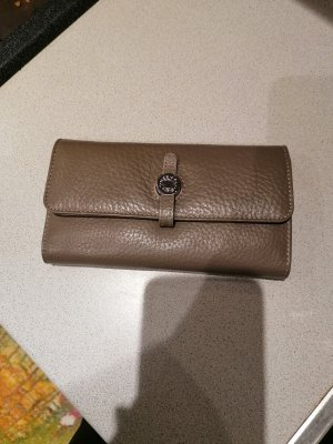 Wallet grey brown-light brown