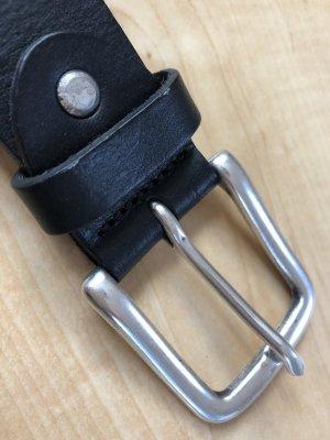 Bernd Götz Cinturón de cuero negro