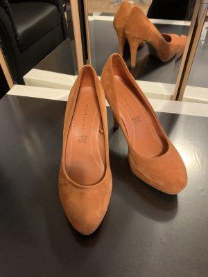 5th Avenue High Heels dark orange