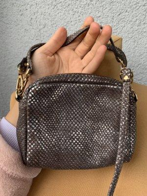 Mini sac gris-gris foncé
