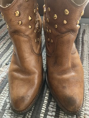 Echt Leder Nieten Boots 38/39
