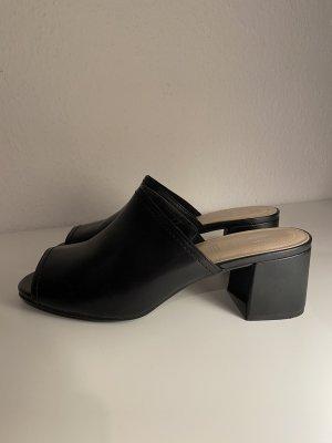 Heel Pantolettes black