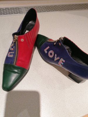 echt Leder Pumps made In Italy