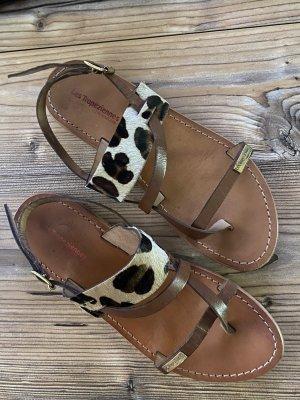 Les Tropéziennes Toe-Post sandals multicolored