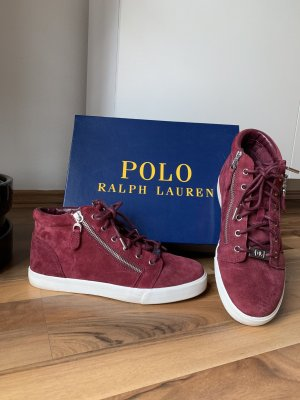 Echt Leder Sneaker, Ralph Lauren