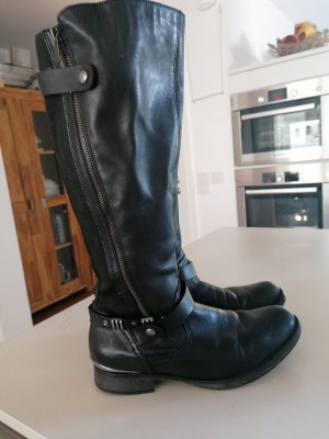 Remonte Jackboots black-silver-colored