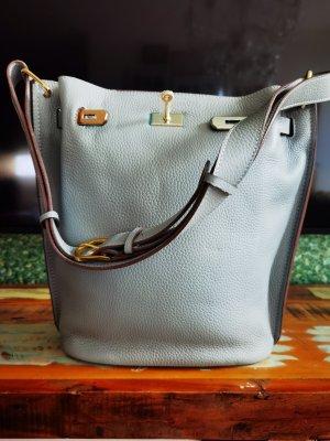 keine Marke Pouch Bag light grey-grey
