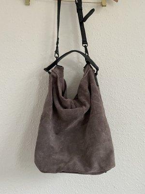 Mango Shopper grey violet