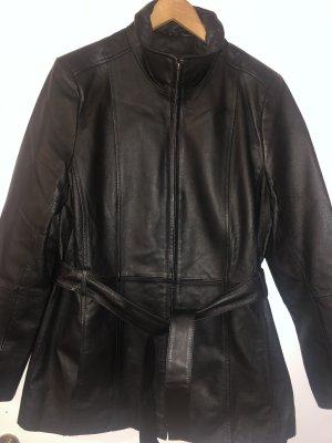 Croft&Barrow Leather Jacket black