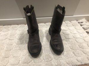 Mexx Boots western brun foncé-brun