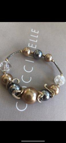 Bracelet argenté-doré
