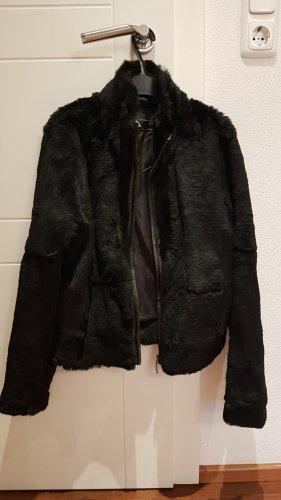 Zara Woman Pelliza negro