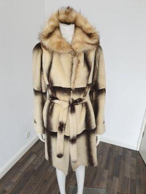 Pelt Coat cream-camel