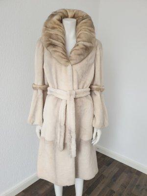 Pelt Coat natural white-beige