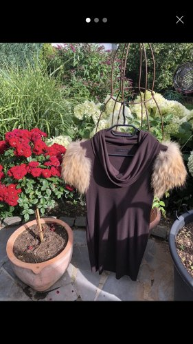 Tenax Stretch jurk bruin