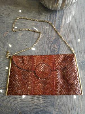 Echt Schlangenleder Tasche Phyton Clutch Bag