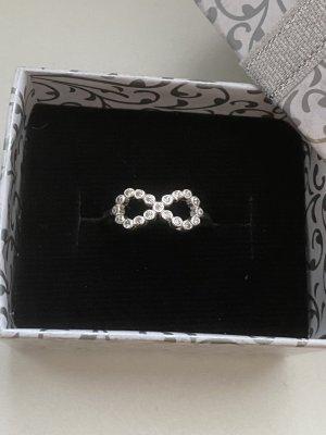 Echt Silber 925 Ring Infinity Neu mit Verpackung
