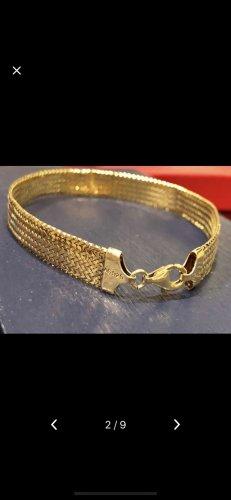 Echt Silber 925 Silber Armband vergoldet 20 cm neuwertig