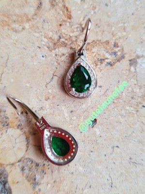 Silver Earrings multicolored