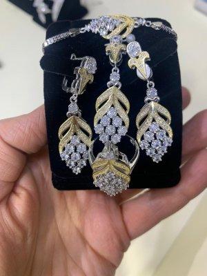 andere Marke Parure bijoux multicolore