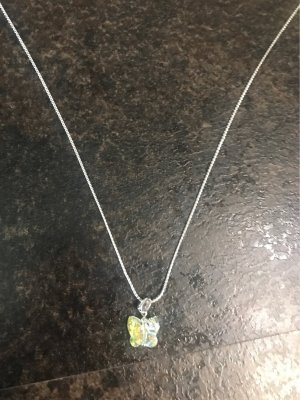 Silver Chain silver-colored-primrose metal