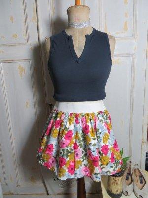 Twentyone Falda de talle alto multicolor Algodón