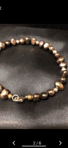 Bracelet bronze-colored-black