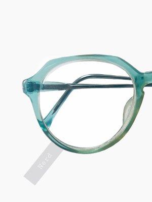 Echt Vintage Brille mit Stärke Oma nerd grün transparent | true Vintage | unisex