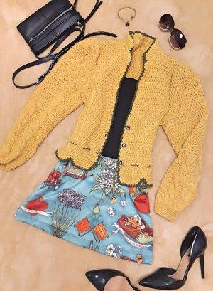 Vintage Giacca in maglia multicolore