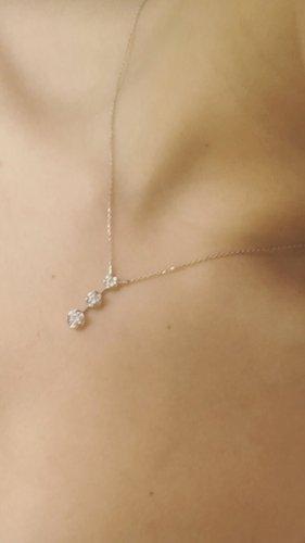 Gold Chain silver-colored-white