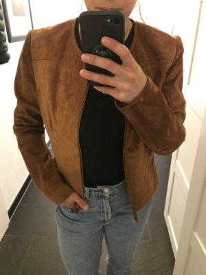 Echt Wild Leder Jacke Zara