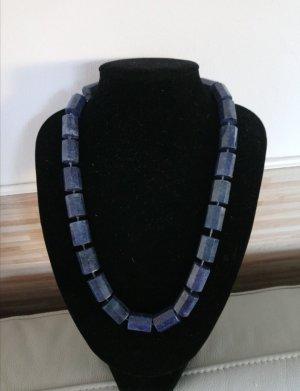 Collana blu scuro Argento