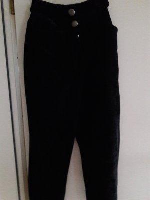 BC Pantalon en cuir noir cuir