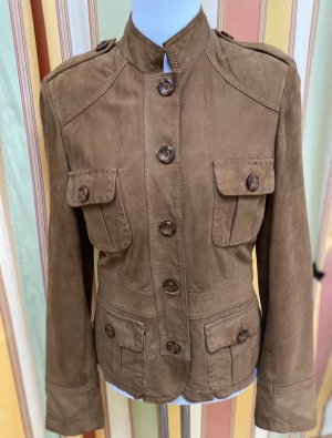 Cabrini Leather Jacket camel-light brown